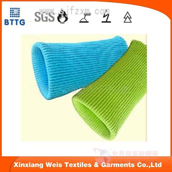 阻燃罗纹袖口 材质:晴棉 性能:EN11611、EN11612 用途:保暖型阻燃工作服