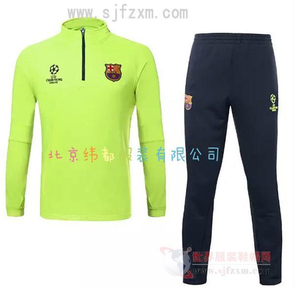 北京定做短袖足球服套装训练队服套装铲球服定做纬都