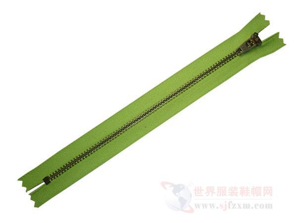 南京正品YKK拉链供应 YKK3#Y型青古铜闭口拉链价格