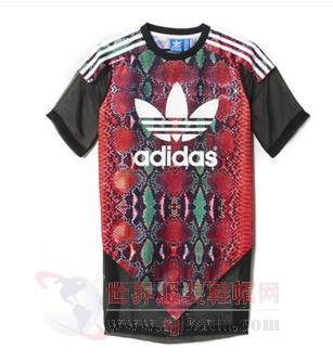 2017品牌定制猎奇服饰品牌定制明星同款运动短袖