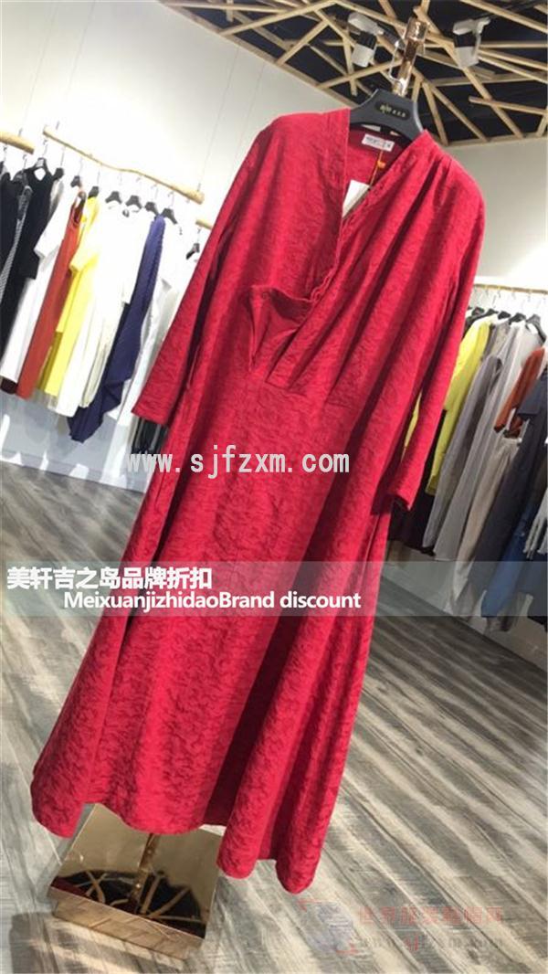 设计谷 品牌折扣女装欧美复古女装尾货批发 厂家直销