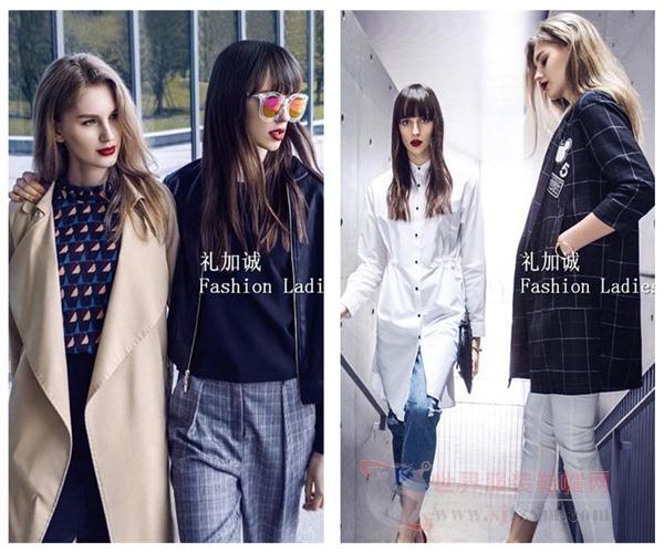 品牌服饰折扣店依目了然春季新款女装折扣一手货源