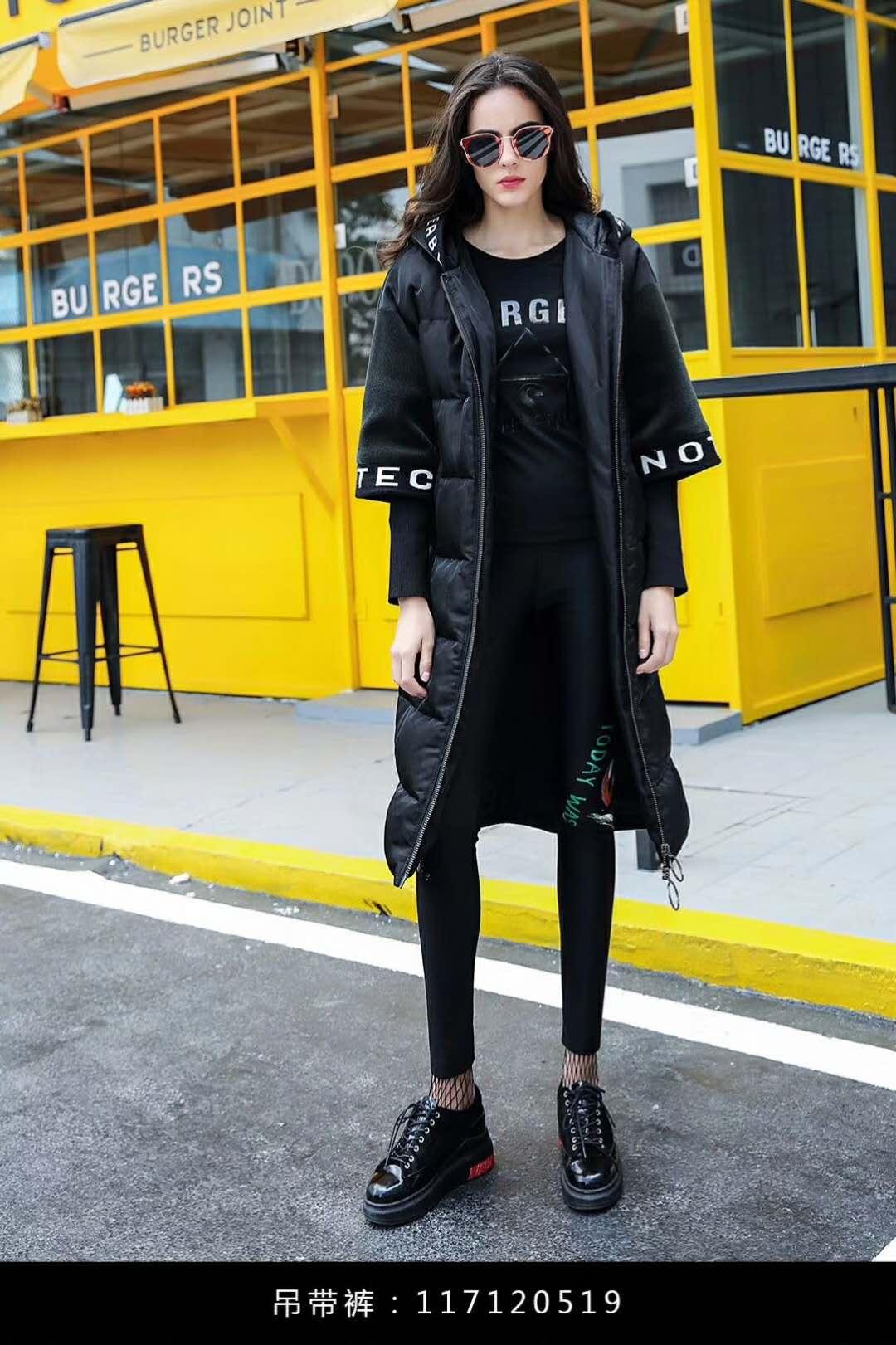 杭州一线羽绒服专柜正品女装折扣拓谷进货渠道