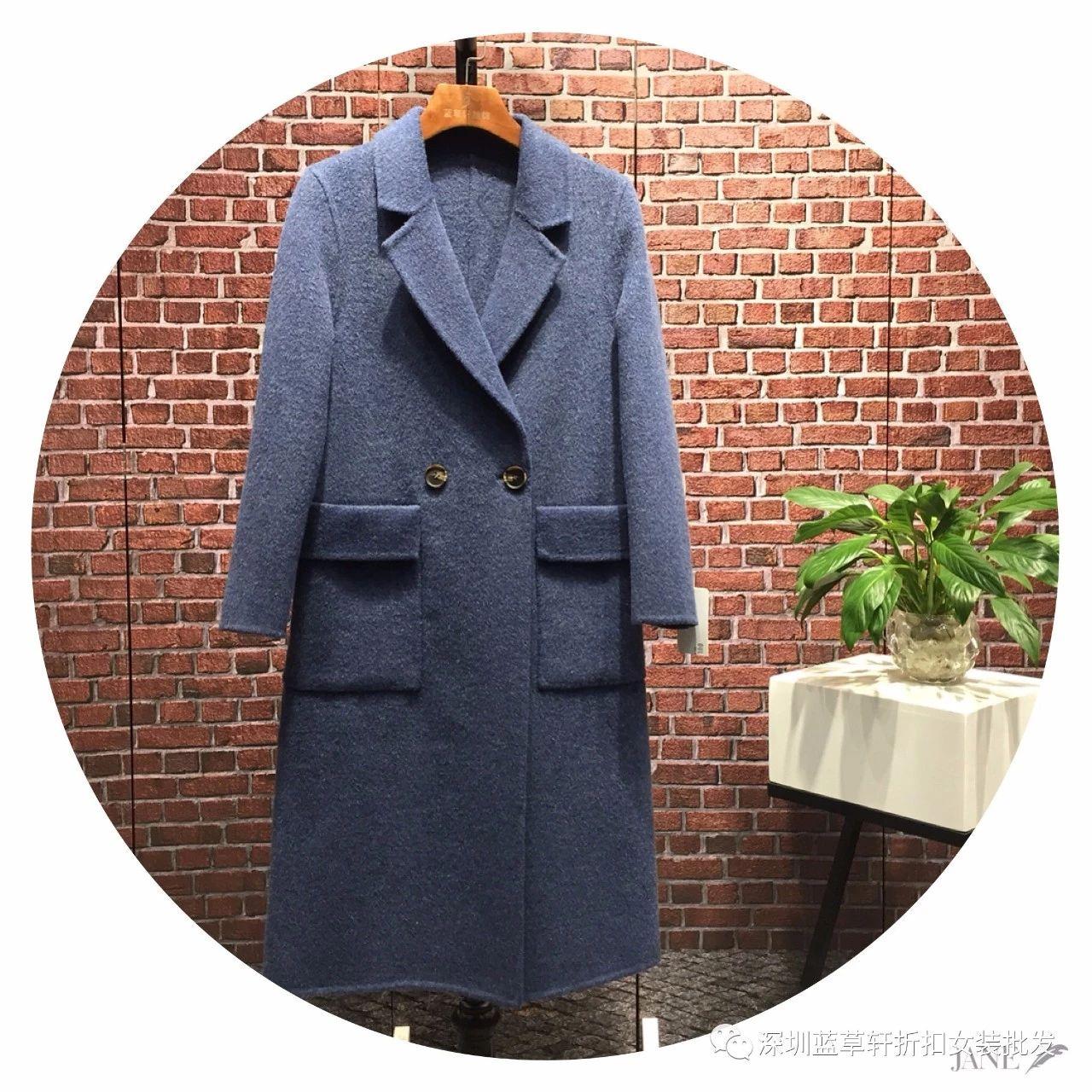 厂家批发 高端阿尔巴卡羊驼绒大衣女短款韩版时尚羊毛呢外套