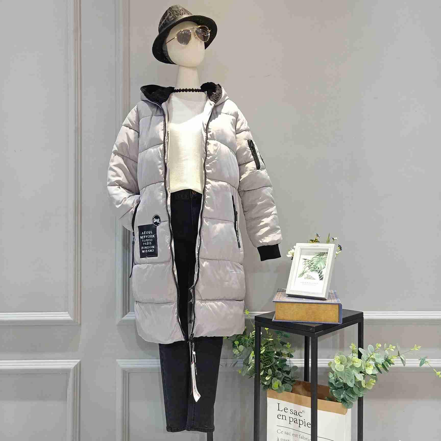 广州明浩提供品牌折扣女装埃文羽绒服价格行情
