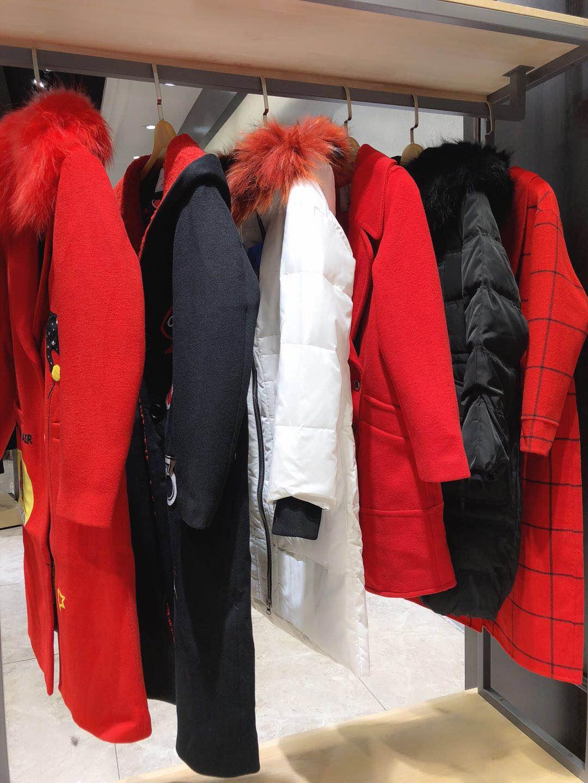 2018 winter fashion discount women's clothing [mark Hua Fei] down jacket wholesale sourcing