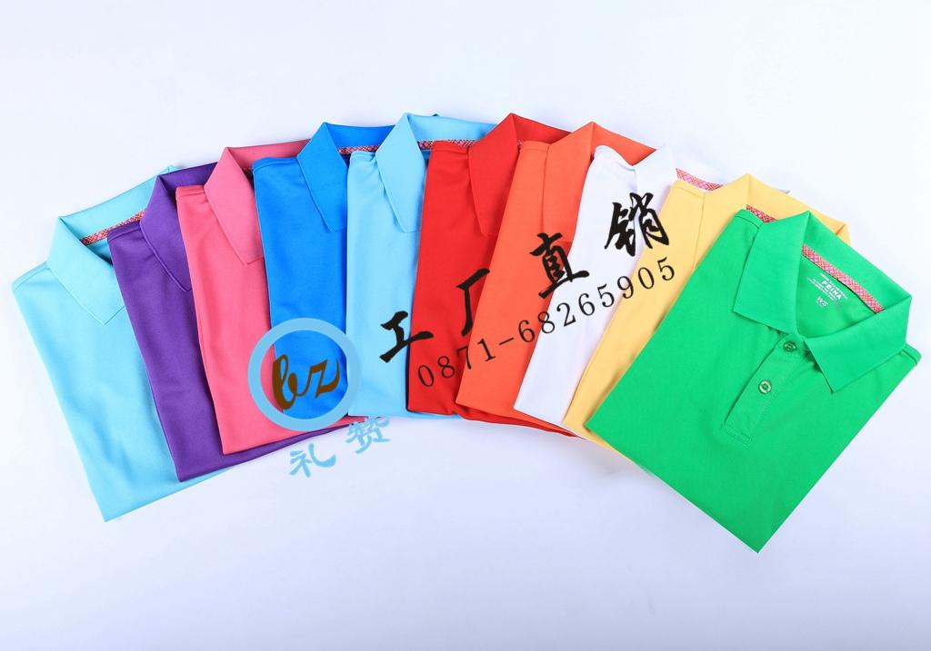 昆明空白T恤衫,昆明纯棉广告衫印字,昆明礼赞T恤衫印logo批发