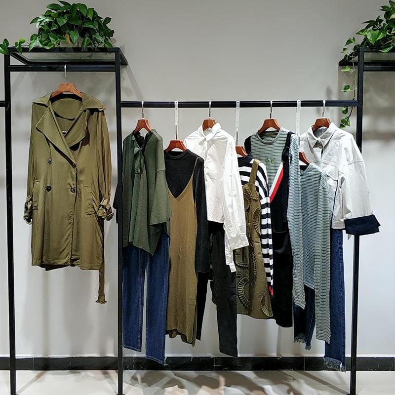 華丹尼杭州專柜品牌女裝品牌折扣女裝尾貨分份批發廠家直銷貨源