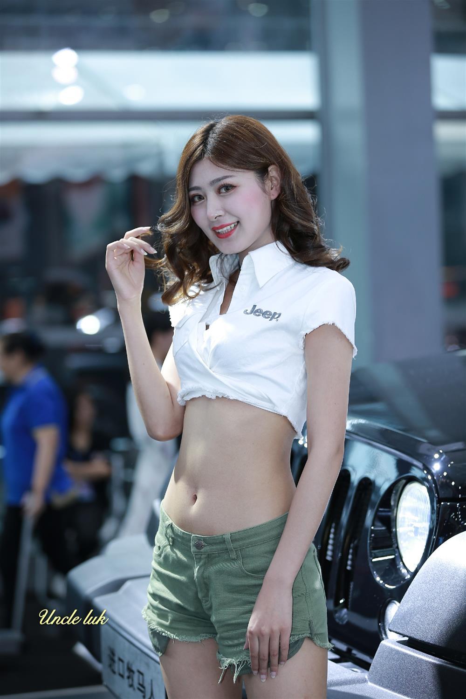 香港车展美女如云发几张养养你的眼福可不要流口水啊