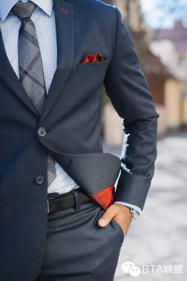 领带配的对,西装看起来贵10倍
