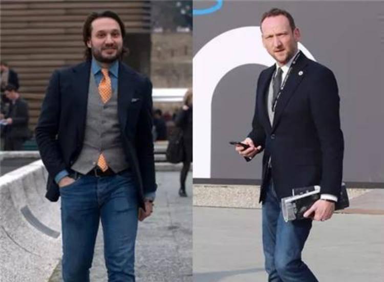 男士西装各种颜色搭配技巧——黑色