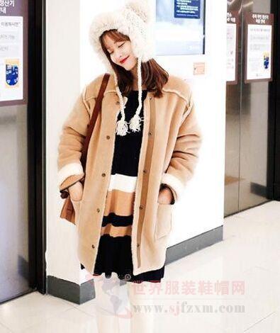 看看冬季街拍就知道韩国人的穿衣风格