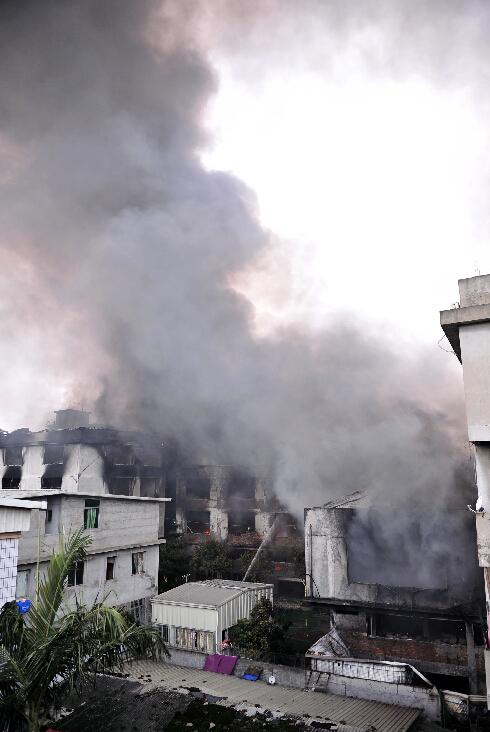 后续:福州仓山区城门镇胪厦工业区失火