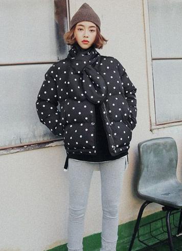 韩国冬天穿什么衣服 就爱羽绒服配长裤