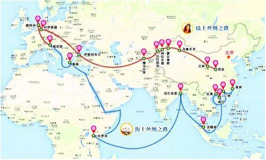 """新疆纺织服装业""""一带一路""""战略 新热点迎发展春天"""