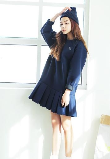 淑女装系列:长袖连衣裙春季必备