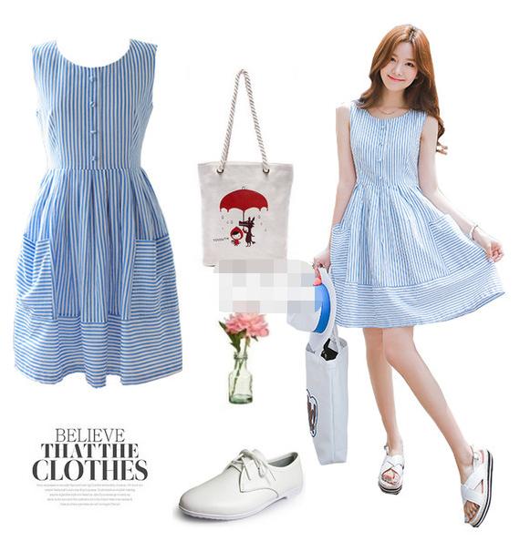 夏天最美流行色 显白显气质只需一抹清凉蓝