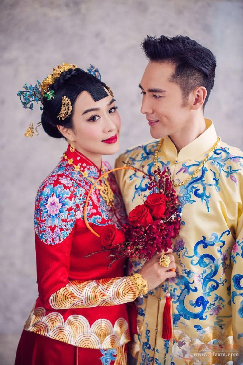 明星结婚中式礼服受热捧 国际获奖亦趋潮流-世