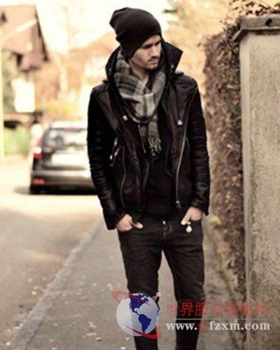 冬季潮男外套搭配  帅气时尚的必备秘诀