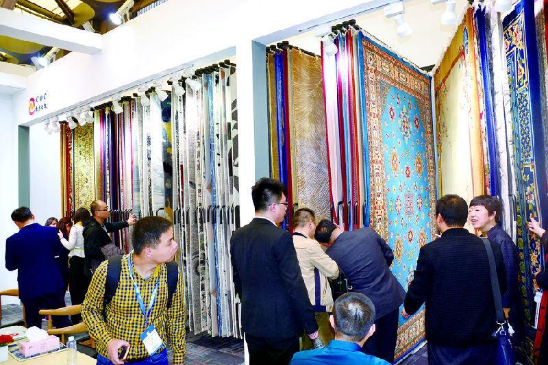 东方地毯2017上海地面材料展  三区域全方位展现庞大实力