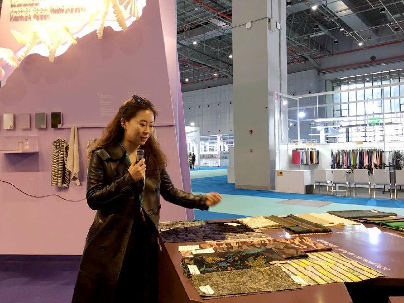 中国纺织信息中心--流行趋势部设计总监李晓菲专访