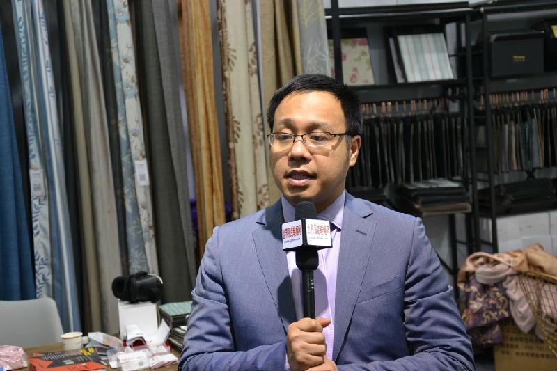 万家帘品杨卫总经理专访
