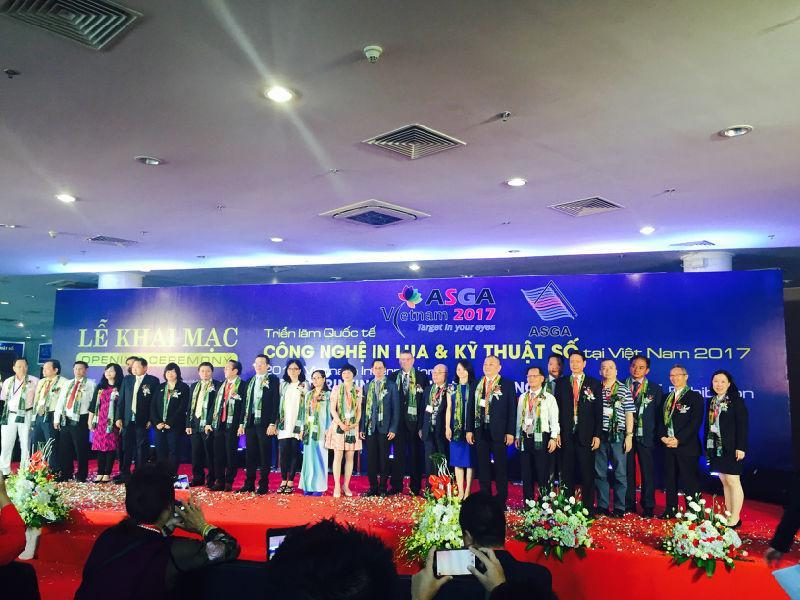 人头攒动 | 2017亚太(越南)网版印刷及数码印刷展今日盛大开幕!