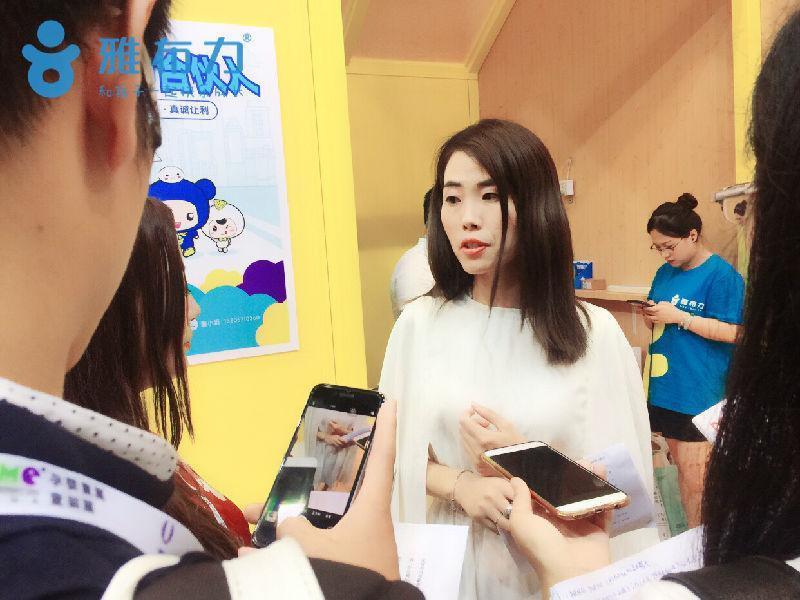 专访雅布力COO凌赛女士