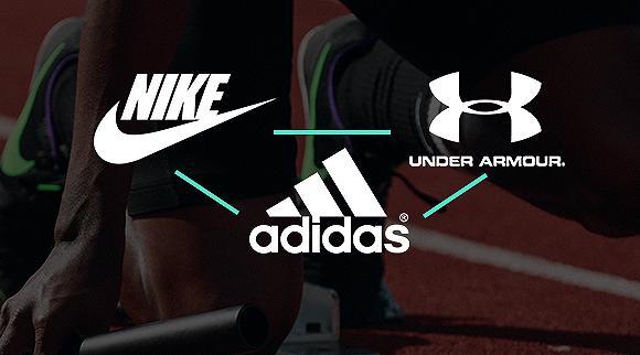Nike、Adidas与UA 广告战相互抗衡
