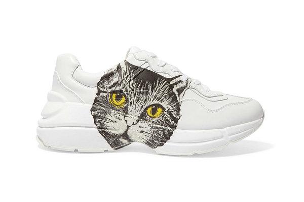 Gucci(グッチ)Rhytonお父さん靴「猫顔」バージョンが可愛いです。