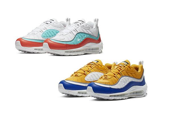 Max Chaussures 98 Nouveaux 'impact D De Deux Couleur Air Styles shrtCQd