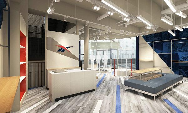 Reebok Store Shibuya Tokyo Concept