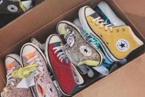 被封印在鞋柜里的球鞋解救出來歐陽娜娜太會選鞋