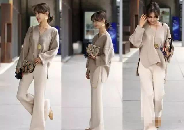 Freeprance Women's Pants Casual Trouser Paper Bag Pants Elastic ... | 450x640