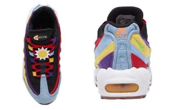 corazón perdido inundar Natura  Nike Air Max 95 Shoes New Color Matching, Retro Cool Upgrade