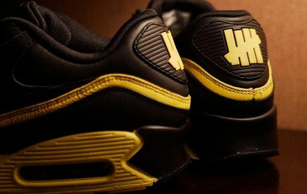 sneakers nike air max couleur or