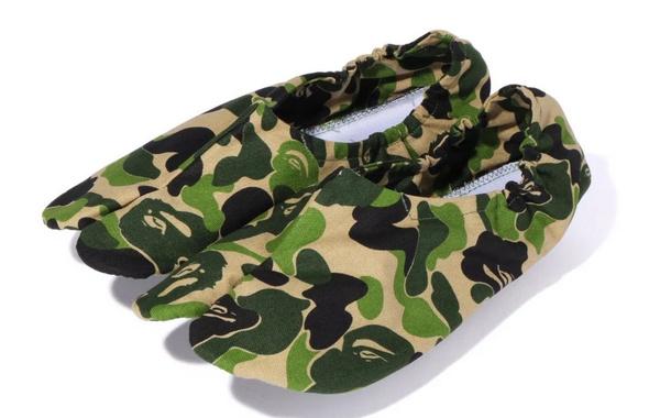 Bape 全新 ABC CAMO 日本傳統足袋正式上架,兩種迷彩配色