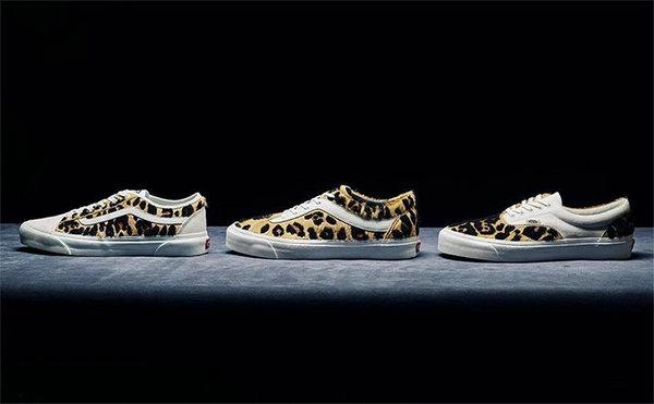 范斯 x Billy's Tokyo 全新聯名豹紋系列鞋款發售詳情釋出