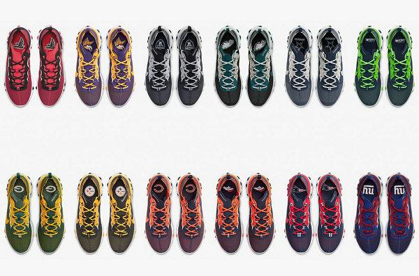 """耐克 React Element 55 球隊專屬""""NFL Pack""""鞋款系列上市"""