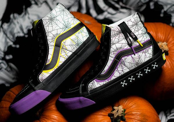 sextante Móvil Autorizar  Size X Vans Sk8-Hi New Halloween Theme Shoes Coming Soon