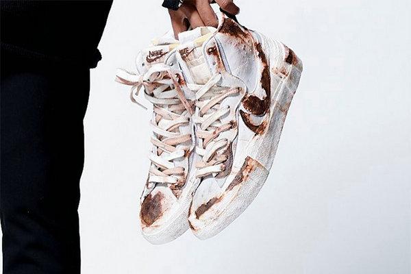Sacai X Nike Blazer Mid Joint Shoes New