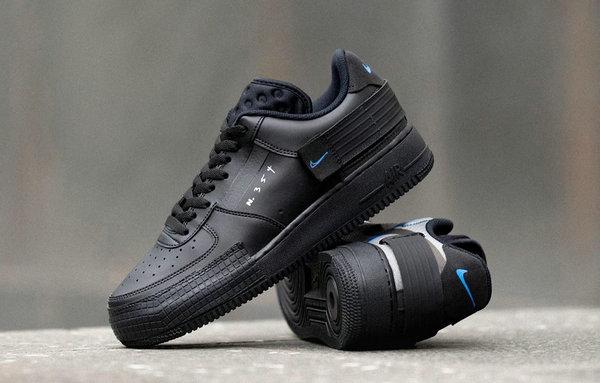 Af1 N354 Démolition De Chaussures, Un Nouveau Black - Soul En ...