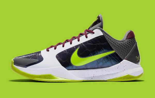 Nike Zoom Kobe 5 Protro Chaos Clown Color Shoes Return To