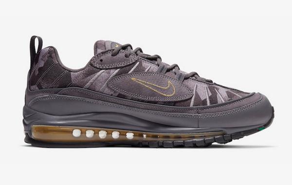 Nike X 姆巴佩联名 Air Max 98 烟灰色配色鞋款释出,细节满满