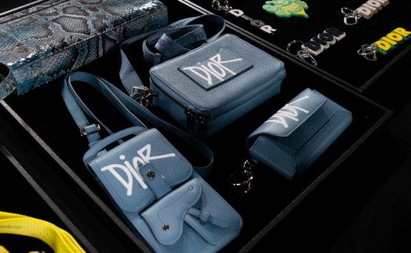 Dior x Stussy 联名配件系列预览,Stussy Shawn 亲自操刀设计