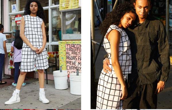 KUON 发布 2020 春夏系列造型型录,自家布料编织