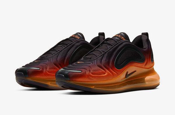 Air Max 720 Shoes New Orange Purple