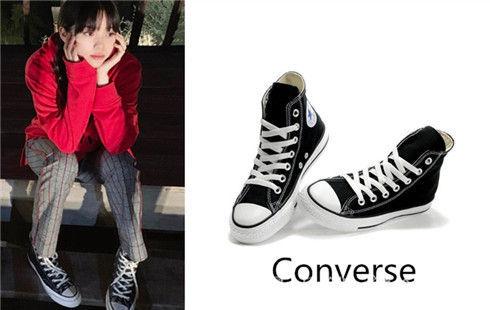 CONVERSE Wears Canvas Shoes.