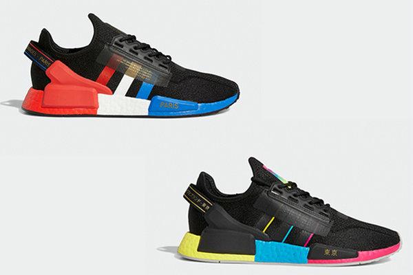 Adidas NMD R1 V2 New Paris, Tokyo City