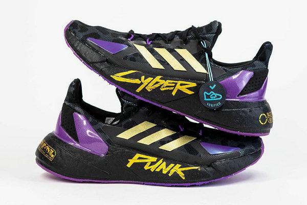 阿迪达斯 x Cyberpunk 2077 联名 X9000L4 鞋款欣赏